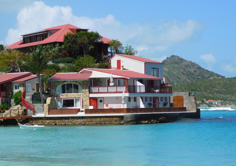 Villa à St-Barthélémy (Antilles)